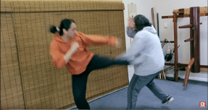Countering A Jab