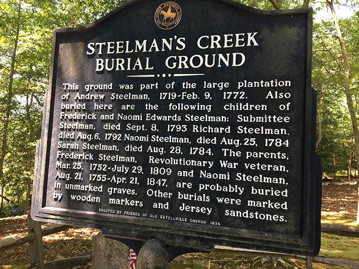 Steelman's Creek Burial Ground